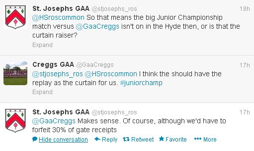 Roscommon GAA tweet