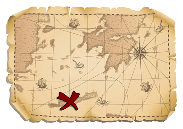 X Marks The Spot Map - More info on