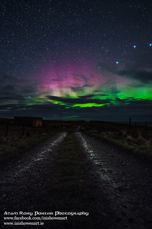 Amazing Pictures Of The Northern Lights In The Sky Above