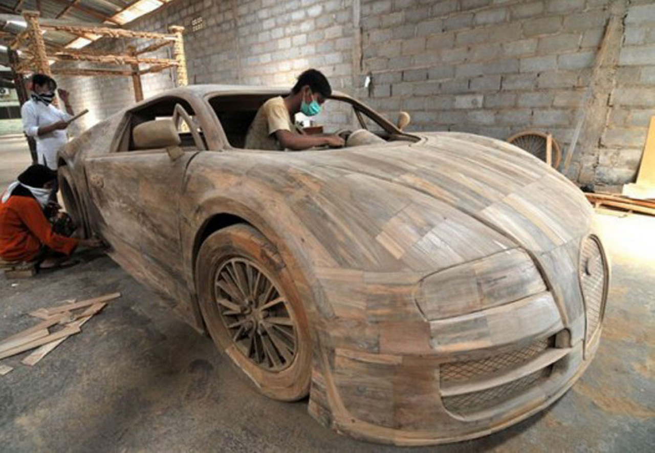 Wood You Believe It This Bugatti Veyron Can Be Yours For