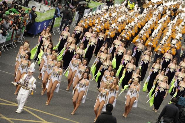 St. Patrick's Day Parade In Dublin