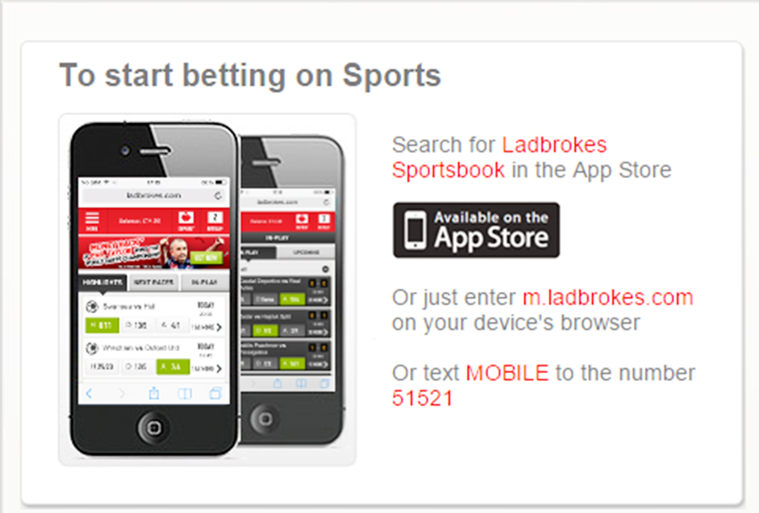is ladbrokes app safe