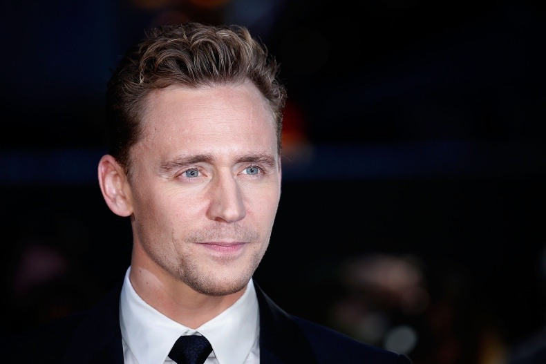 Tom Hiddleston wins Rear of the Year award