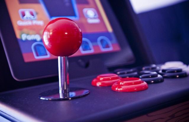 Authentic arcade controls