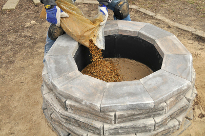 Ten steps to    improve your garden: How to build a fire pit