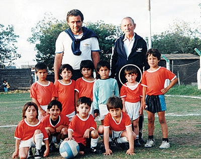 Picture Lionel Messi In His First Ever Football Team Joe Is The
