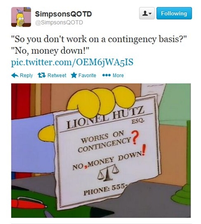 The greatest moments of troy mcclure and lionel hutz joeie for Lionel hutz business card
