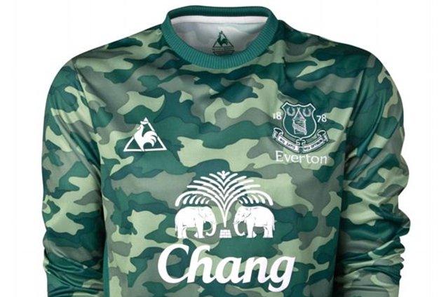 Everton keeper kit
