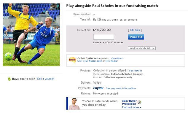 Scholes eBay