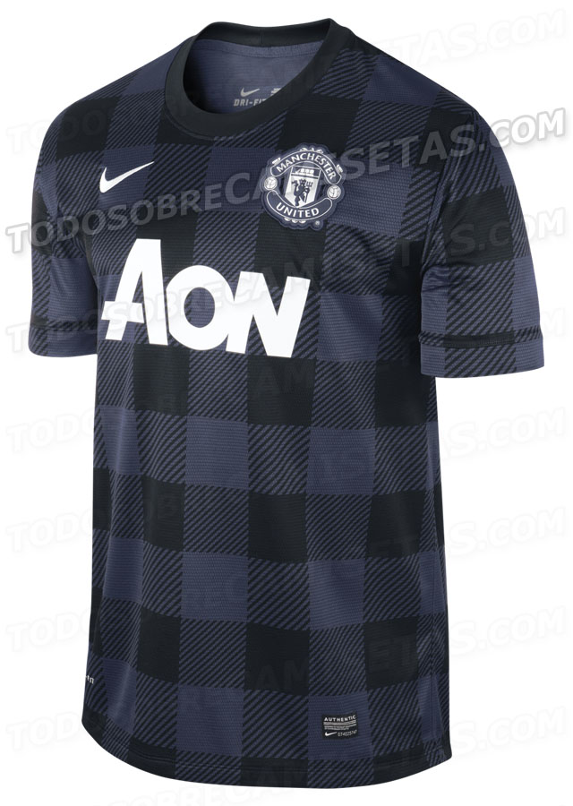 premium selection d569e 726e0 Pic: Is this the new Man United away kit for next season ...