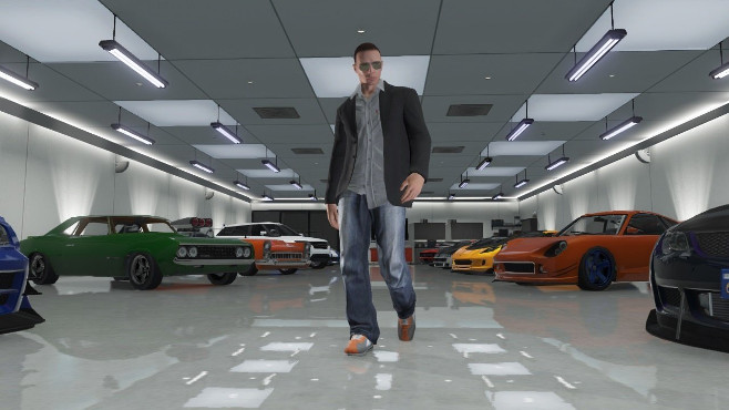 gta online garage not loading