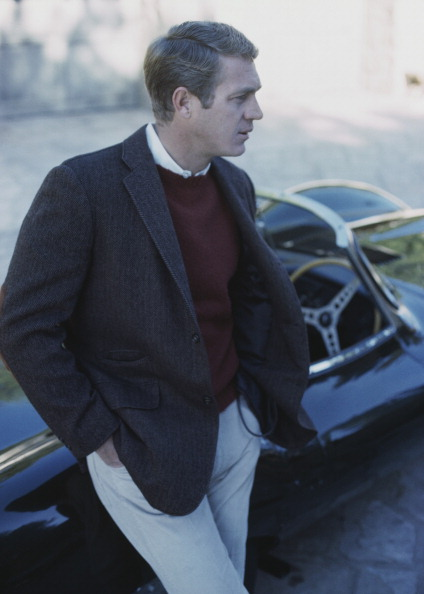 McQueen With Jaguar