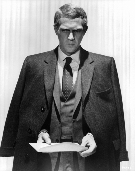 Steve McQueen In 'The Thomas Crown Affair'