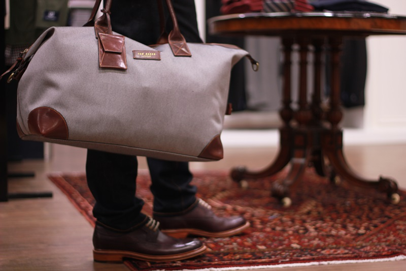 a53f38aac425 JOE loves this Ted Baker weekend bag