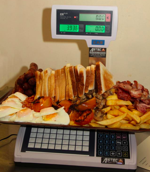Feeling Hungry? Here's A Look At Ireland's BIGGEST