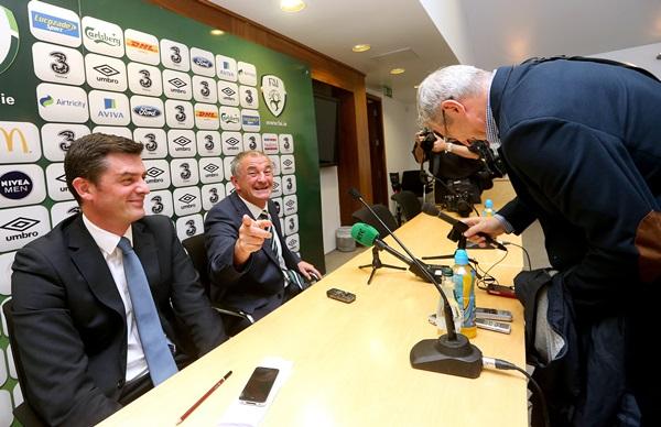 Noel King with Tony O'Donoghue 16/10/2013
