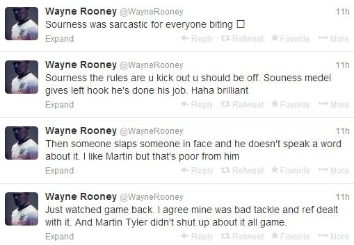 Rooney tweets