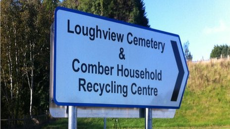 Pic County Down With This Sort Of Thing Cemetery Sign In Down