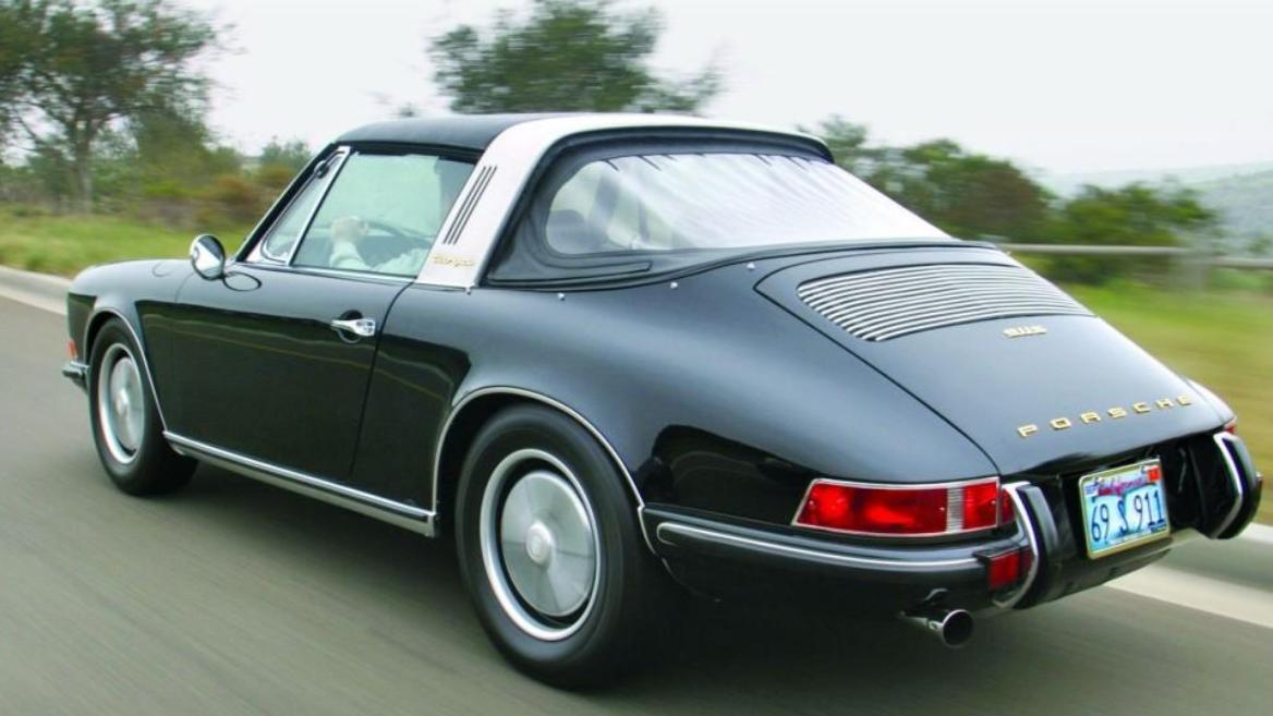 Gallery All New Porsche 911 Targa Combines Retro Features