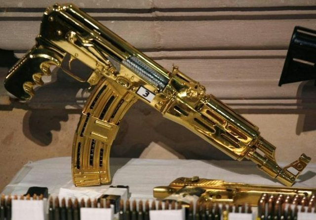 GoldMachineGun