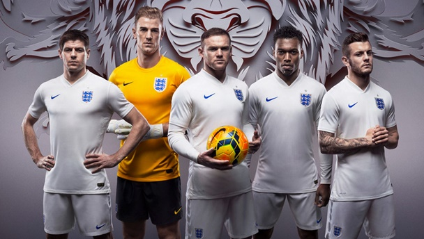 England kit WC 2014 home