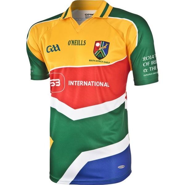 Pic The South Africa Gaels Gaa Jersey Might Just Be The