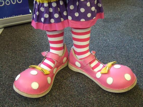 Big Top Clown Shoes