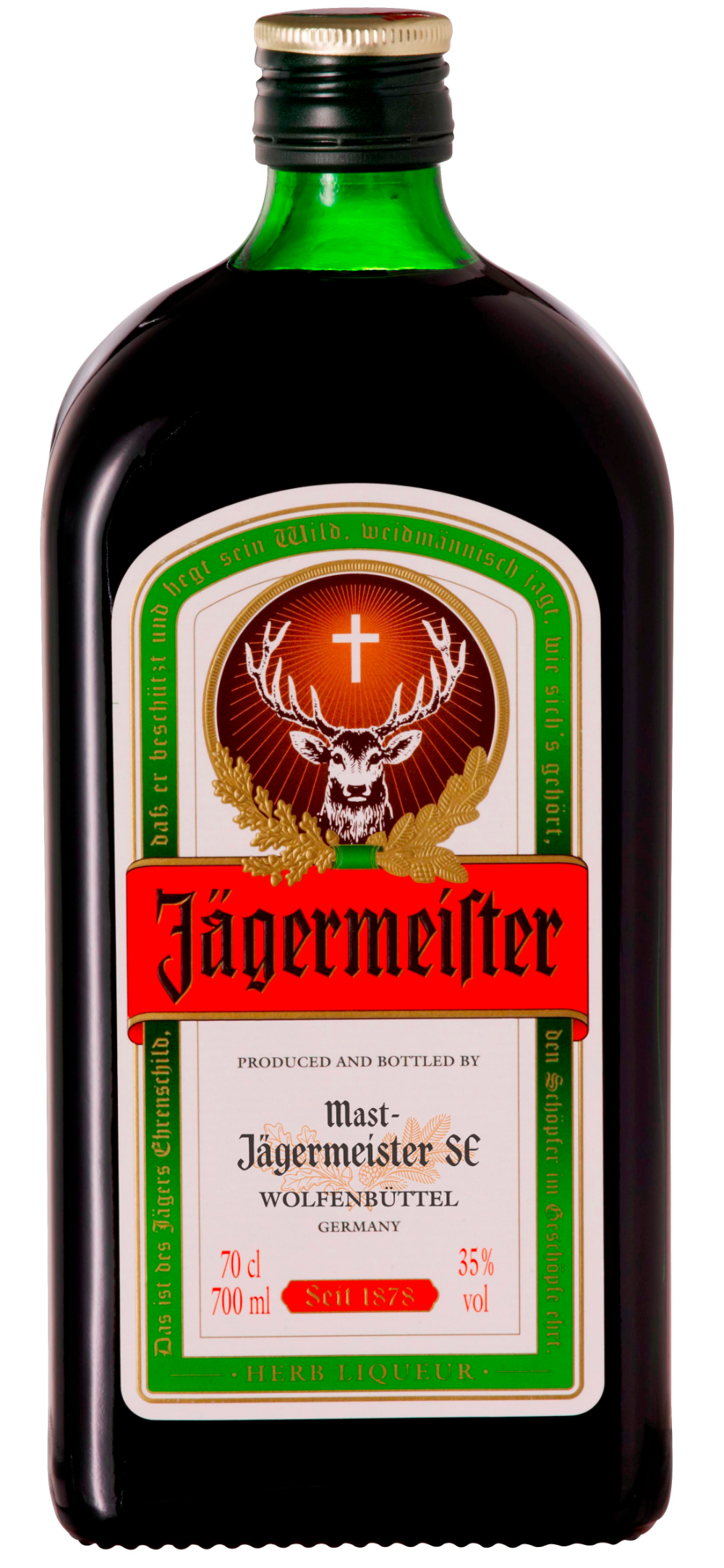 A taste of history the story behind j germeister for Cocktail jager