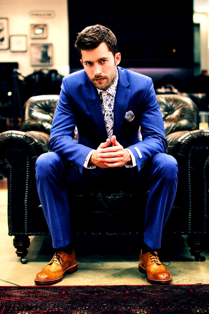 Get the perfect suit for that Summer wedding at Arnotts ...