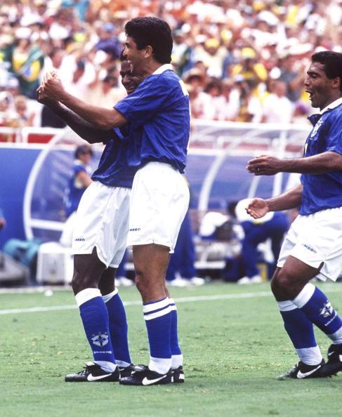 FUSSBALL: NATIONALMANNSCHAFT WM 1994, HOL - BRA 2:3