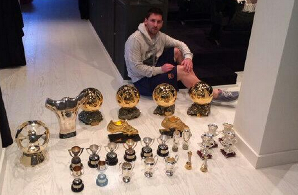 Messi-Trophies