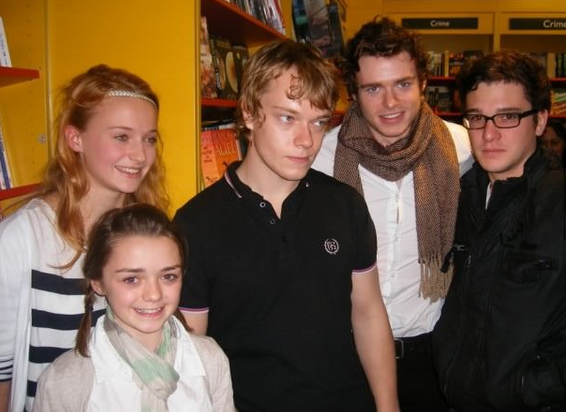 Pic: Puberty is coming... Look at how young the Game of Thrones ...