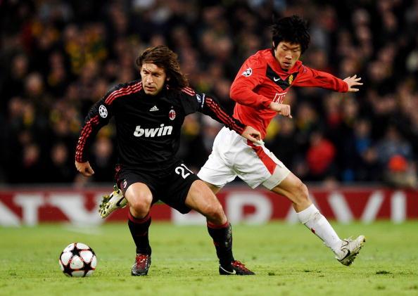 Manchester United v AC Milan - UEFA Champions League