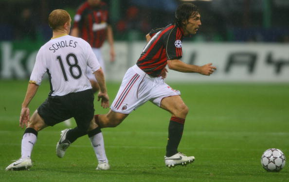 UEFA Champions League Semi Final: AC Milan v Manchester United