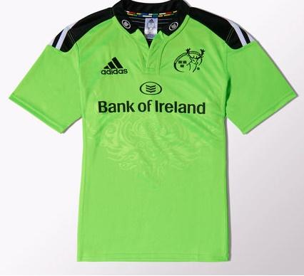 Munster away green 1