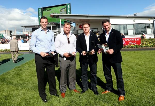 Andrew Browne, Brett Wilkinson, Sean Cronin and Fergus McFadden 29/7/2013