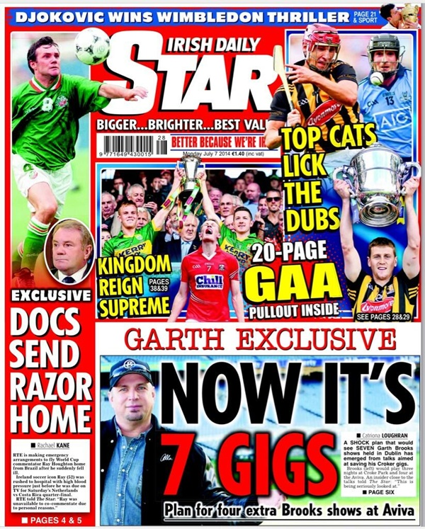 Star front July 7