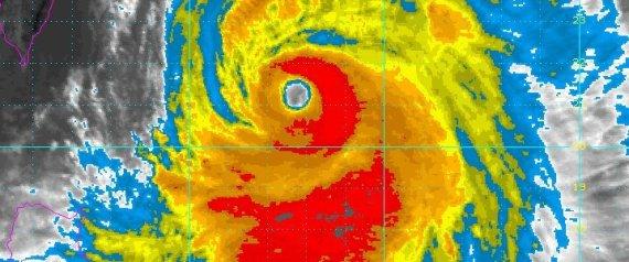 Typhoon satelitte