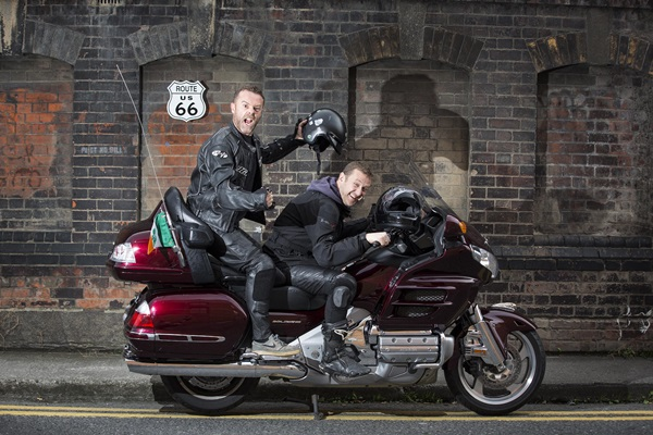 Eric Lalor and PJ Gallagher will get their kicks on Route 66 for Temple Street Children's Hospital