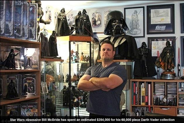 Фэндом: Фанат Звездных войн собрал впечатляющую коллекцию