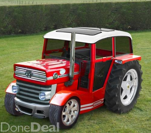 Done Deal Tractor >> This DoneDeal ad for a pimped out Massey Ferguson is absolutely priceless | JOE is the voice of ...