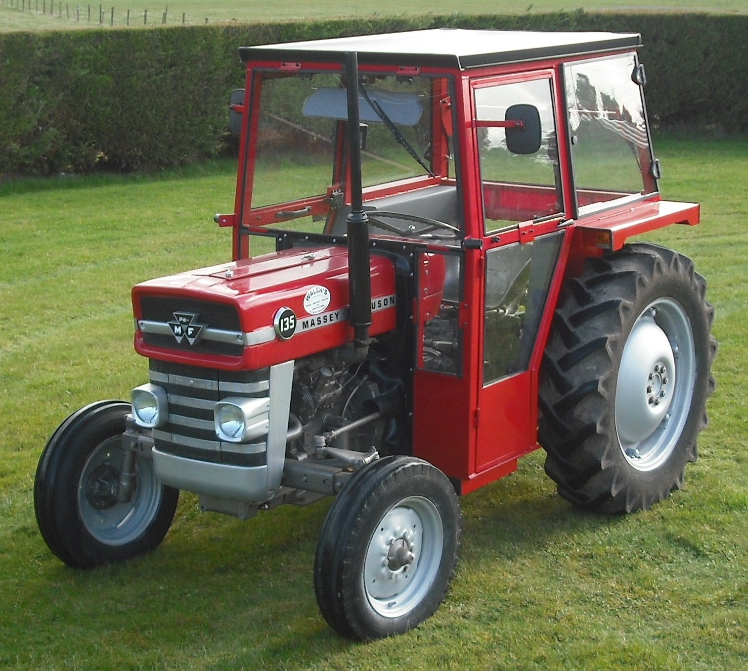 this donedeal ad for a pimped out massey ferguson is. Black Bedroom Furniture Sets. Home Design Ideas