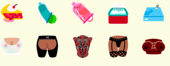 tech flirtmoji sexting emoji