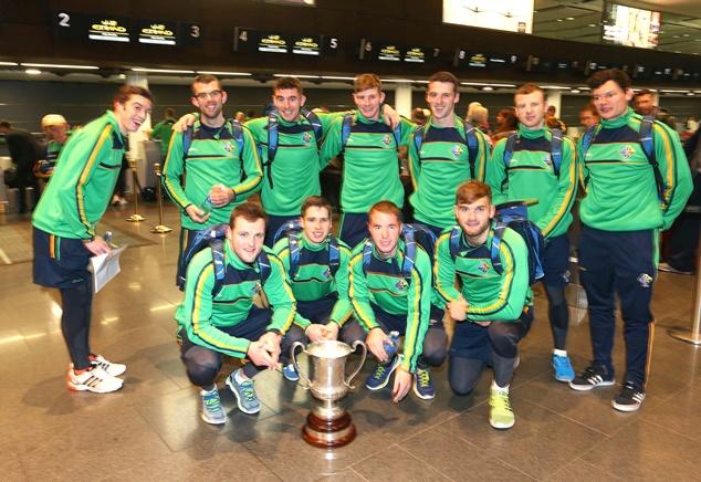 The Ireland team 12/11/2014