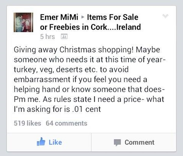 items for sale or freebies in cork facebook
