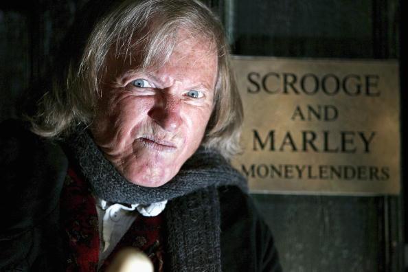 "Tommy Steele Returns To London Palladium In ""Scrooge"""