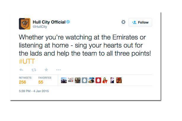 HullCityTweet