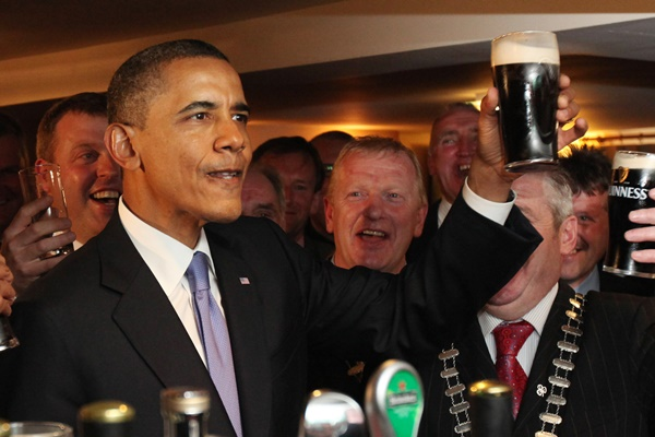 US President Barack Obama Visits Ireland