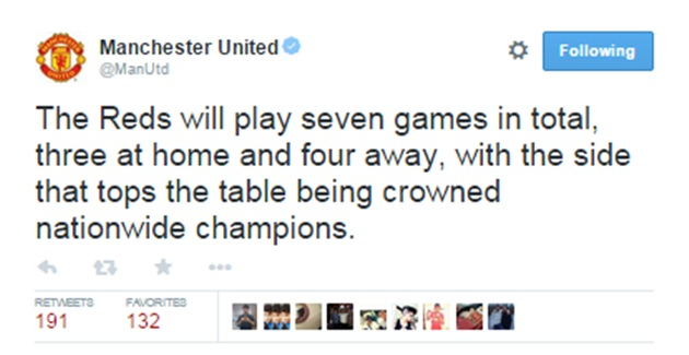 Pic: Manchester United's social media account made a pretty bad