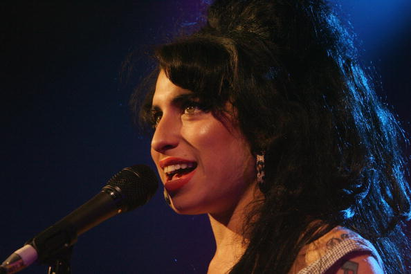 LONDON - MAY 28:  Singer Amy Winehouse performs At Shepherd's Bush Empire May 28, 2007 in London, England.  (Photo by Jo Hale/ Getty Images)